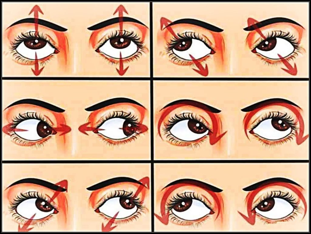 Keep your eyes healthy with everyday Eye Exercises
