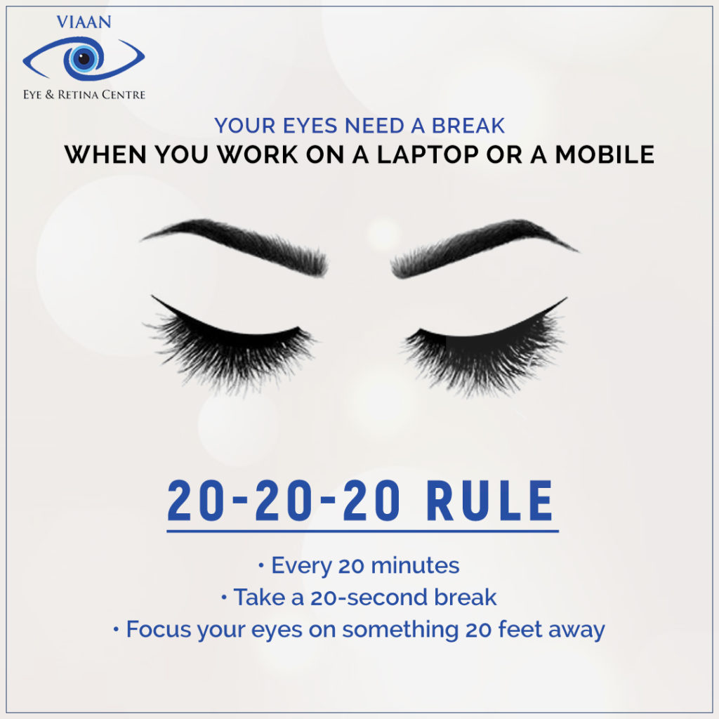Follow the 20-20-20 Rule to Prevent Eye Strain